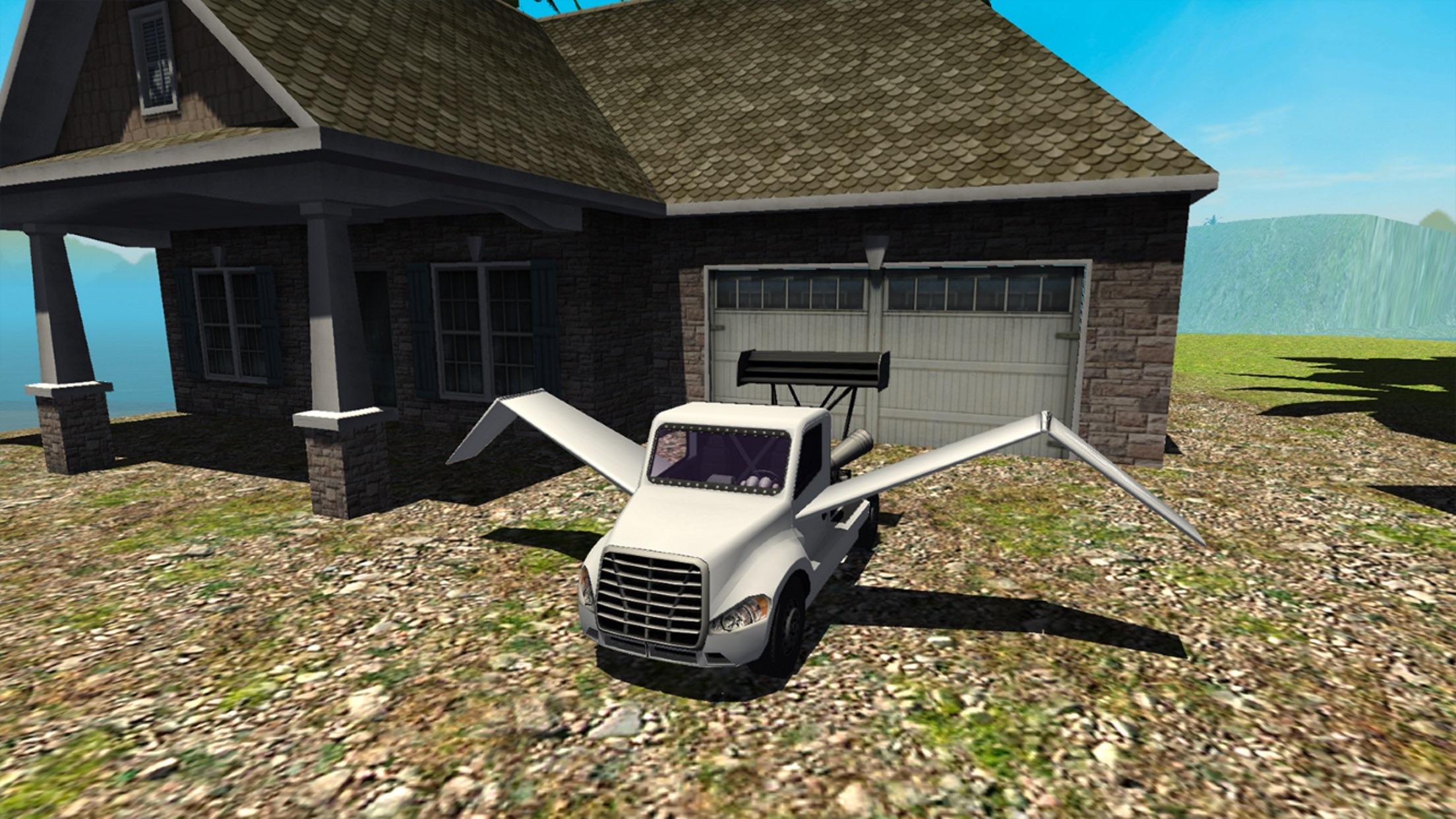 Flying Car Simulator : Jet Truck - Airplane Pilot Screenshot