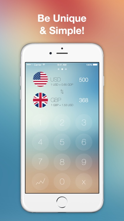 Simple Currency Converter - easily convert foreign currencies with historical exchange rates and work offline using yahoo