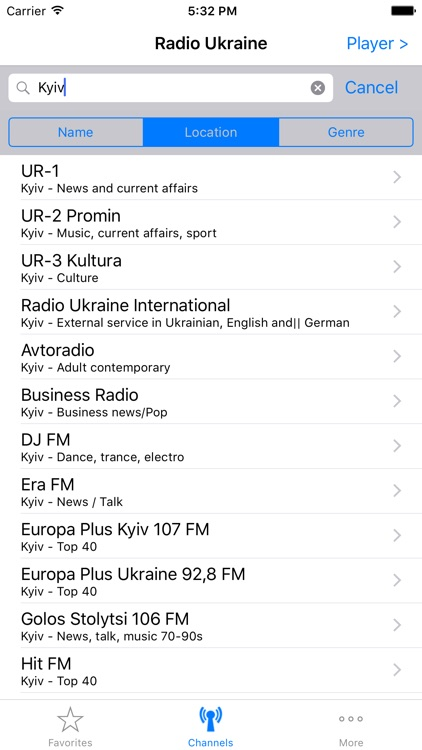 Radios of Ukraine screenshot-4