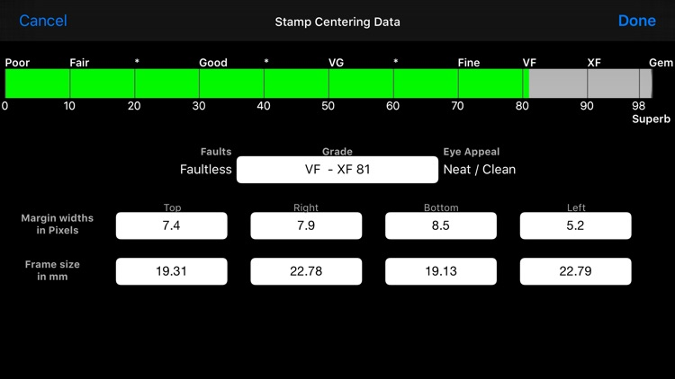 Stamp Analyser screenshot-1
