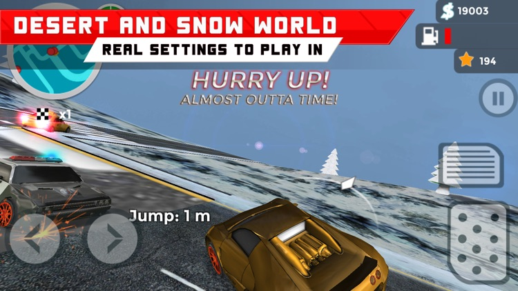 Hill Car Racing screenshot-3