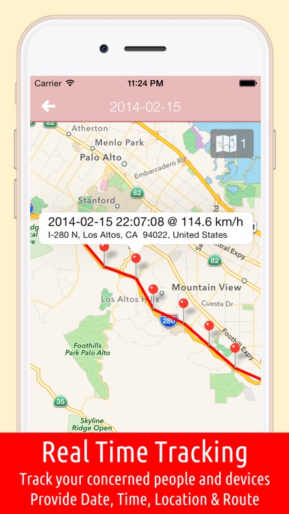 GPS Tracker 365 Manager - Locator for Kids, People & Vehicle. Real Time Tracking screenshot-0