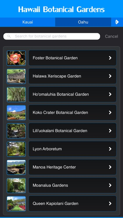 Botanical Gardens of Hawaii