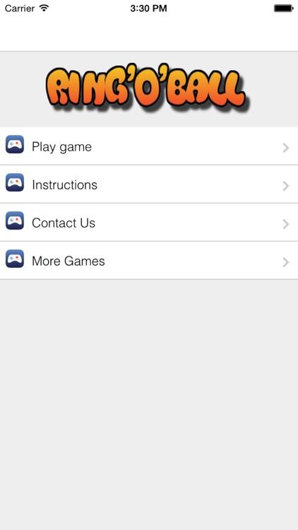 Ring O Ball #1 Ball and Ring Multilevel Game screenshot-4