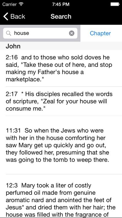Catholic New American Bible RE screenshot-3