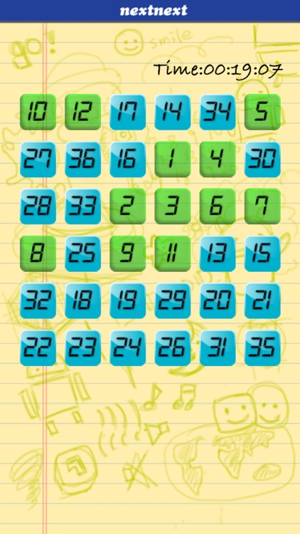 Touch Number In Order - Brain Training screenshot-3