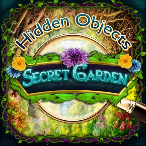 Secret Gardens - Hidden Object Spot and Find Objects Photo Differences