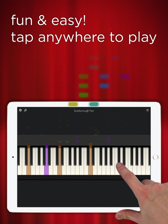 Screenshots of Tiny Piano - Free Songs to Play and Learn! for iPad