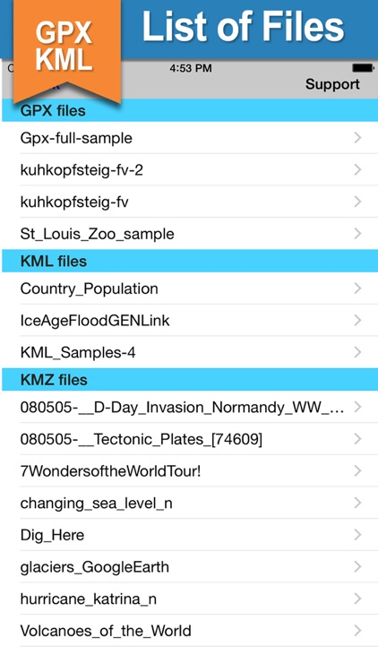 GPX KML KMZ Viewer and Converter on gps map screenshot-3