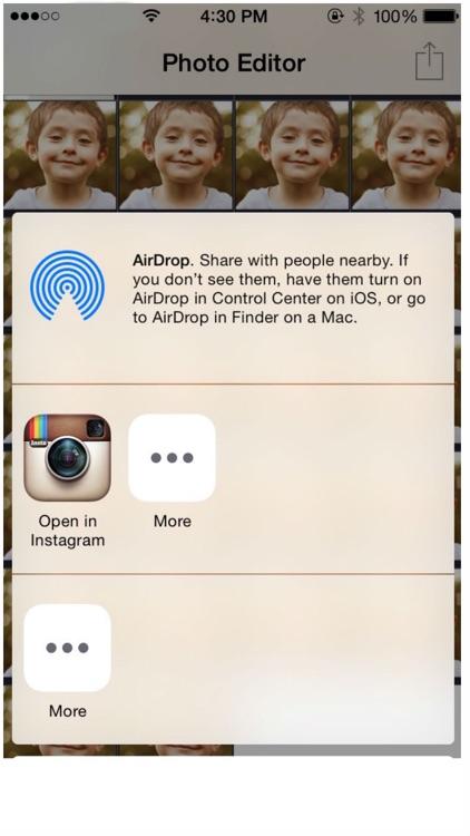 Photo Editor - Amazing airbrush for Instagram or Snapchat screenshot-3