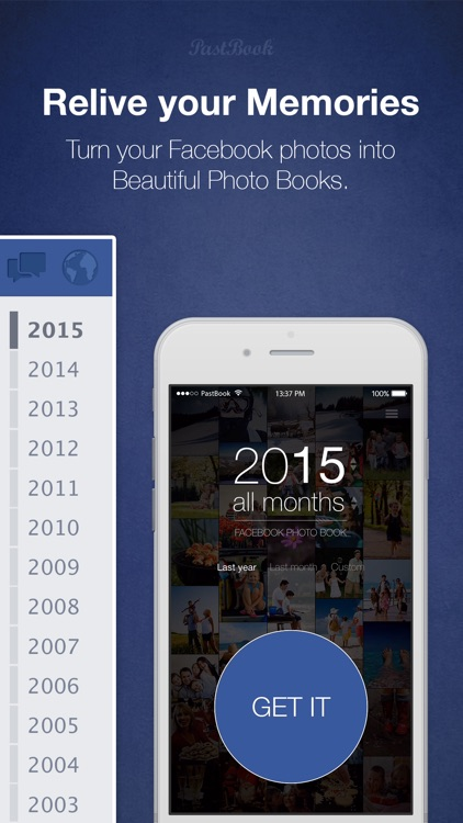 PastBook for Facebook