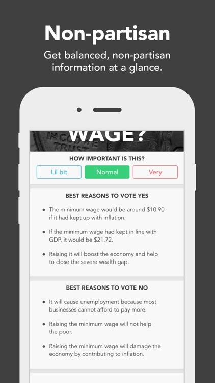 Voter - Matchmaking for Politics screenshot-4