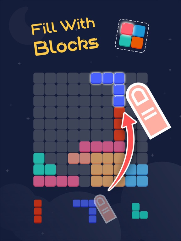 Block Blitz: A Grid Puzzle Game-ipad-0