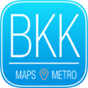 Bangkok Travel Guide with Metro Map and Route Planner Navigator