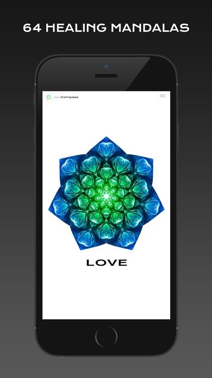 iamCompass : Chakra iChing Intuitive Healing Affirmations screenshot-3
