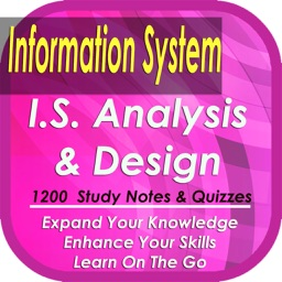 Information System Analysis & Design: 1200 study notes, tips & quizzes