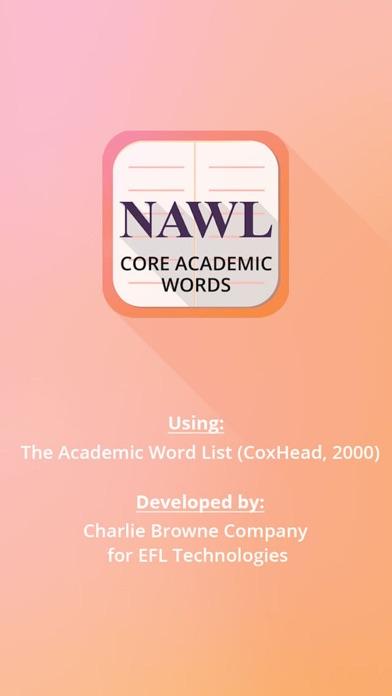 NAWL Builder Multilingual screenshot one