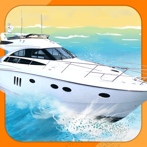 Ace 3D Boat Parking Free - Nitro Speedboat Driving Simulator Racing Games Edition