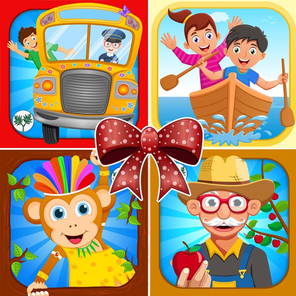 Toddlers Nursery Rhymes Bundle- Kids Songs Collection