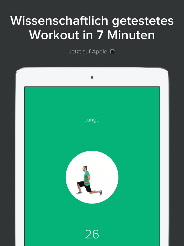 Quick Fit - 7 Minute Workout, Yoga, and Abs Screenshot