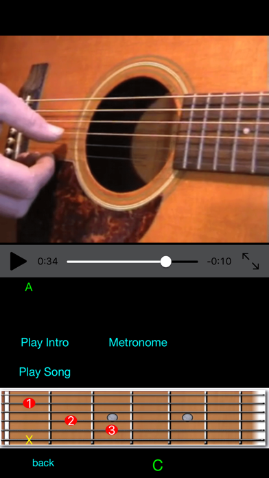 Guitar Lessons Pro screenshot four