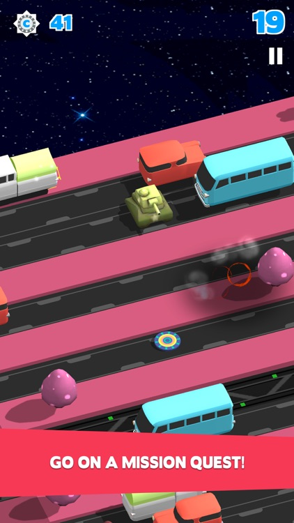Bring Me Home-Endless Road Crossing with Hopper Hovercraft screenshot-3