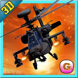 Stealth Helicopter Gunship War – Modern air counter strike navy fighter game