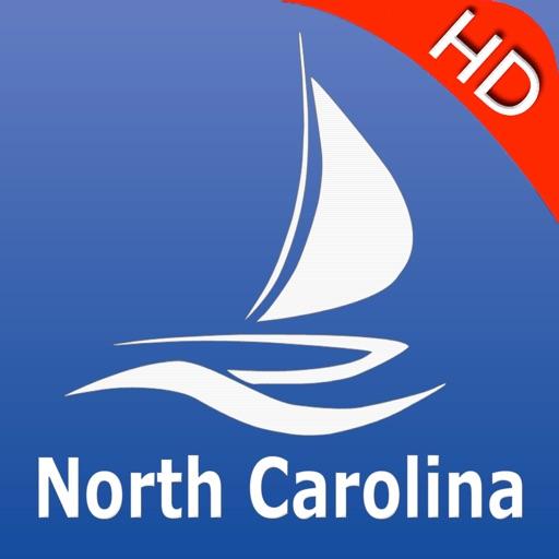 North Carolina GPS Nautical charts pro