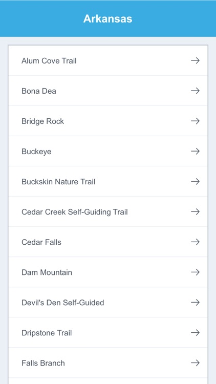 Arkansas Recreation Trails screenshot-1