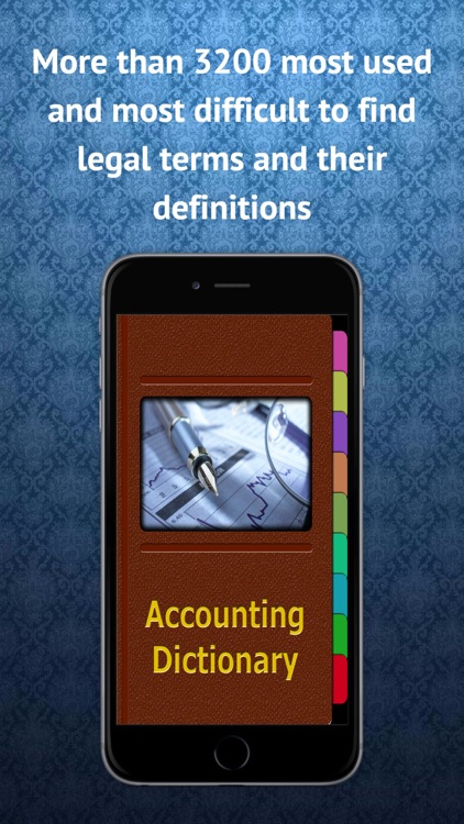Accounting Terms Dictionary