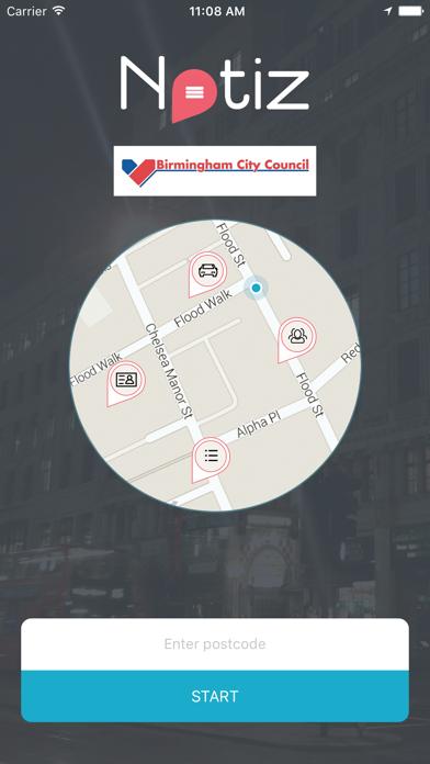 Birmingham City Notiz screenshot one