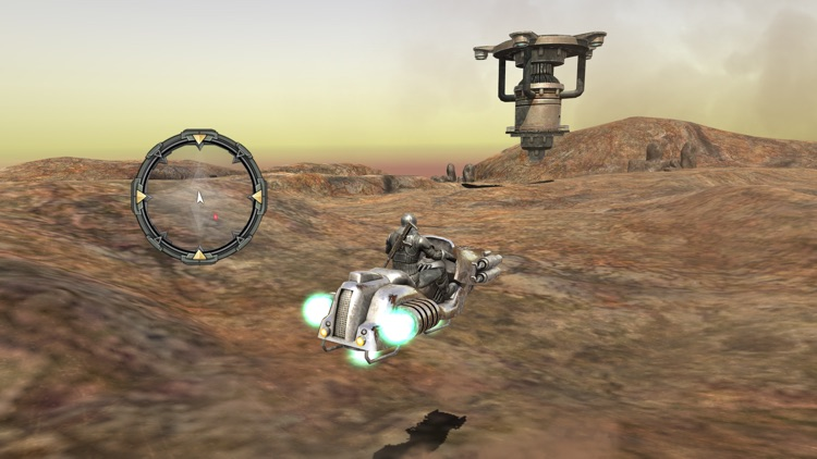 Hovercraft 3D Adventure - Adrenaline Hover Bike Dirt Driving Simulator screenshot-3