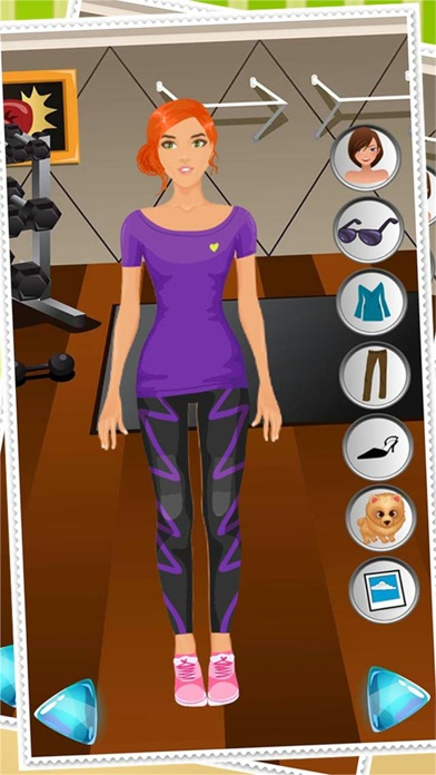 Dress Up Celebrity Fashion Party Game For Girls - Fun Beauty Salon With Teen Cute Girl Makeover Games Screenshot on iOS