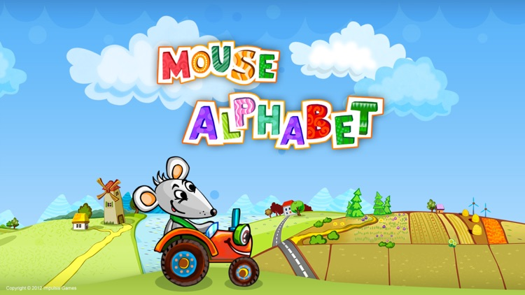 Mouse Alphabet - An Alphabet Adventure for Pre-Readers and New Readers screenshot-0