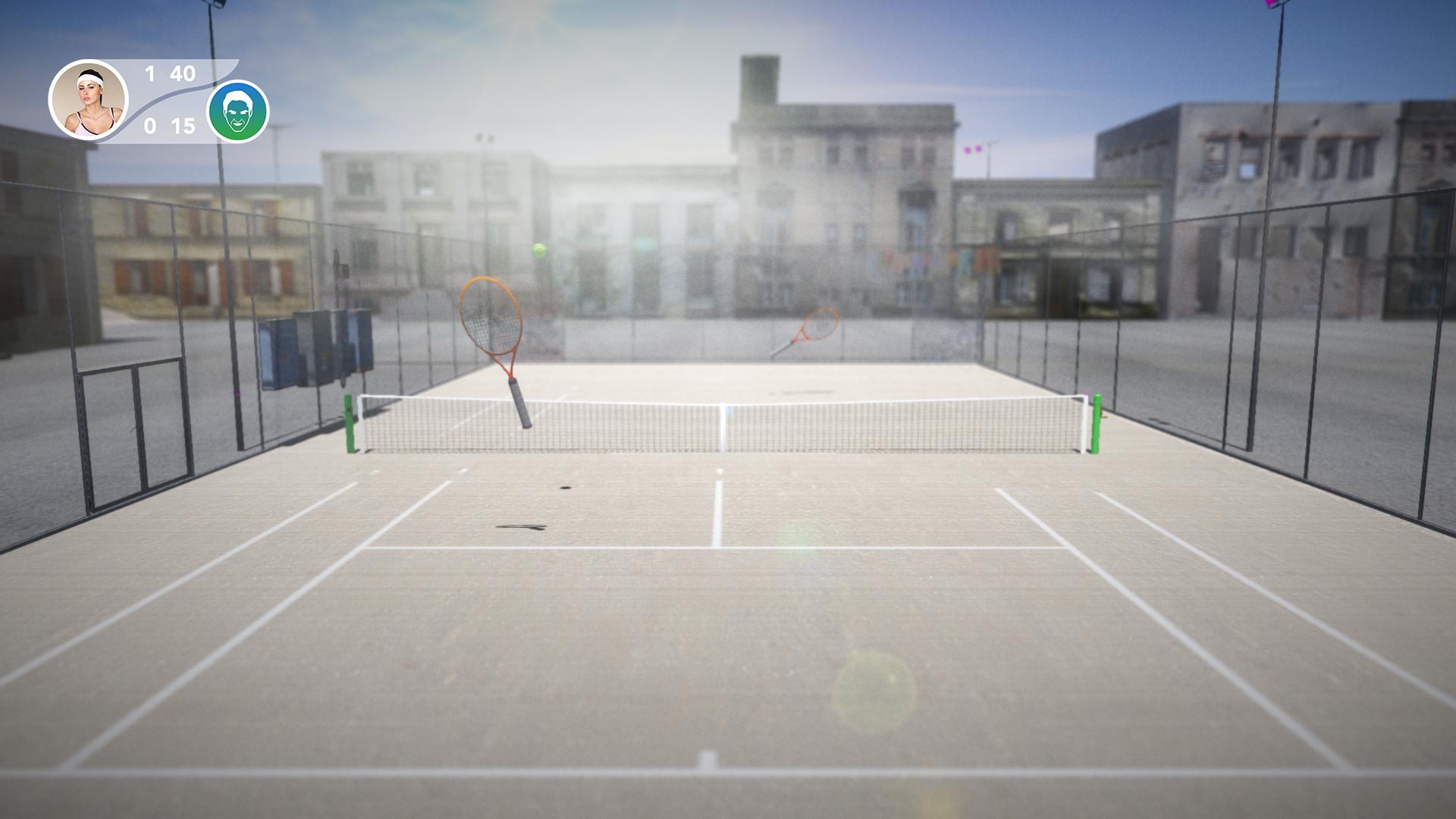 Tennis Pro Tournament screenshot 1