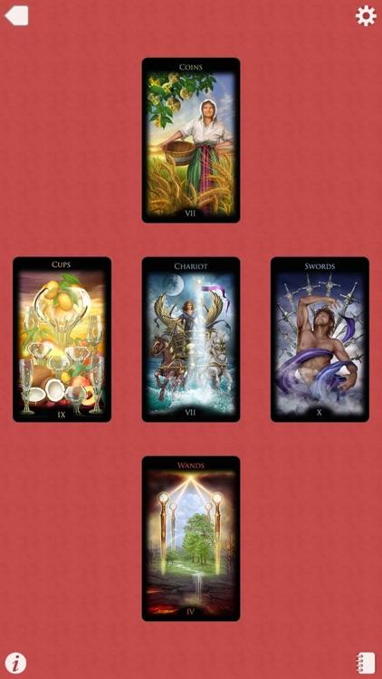 Ciro's Legacy Divine Tarot screenshot-4