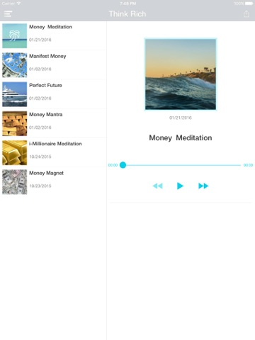 Money Magnet Affirmation with Prosperity Visualizer iOS