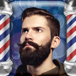 Barber Shop Make-over – Cool Beard and Mustache Stickers in the Best Hair Style Salon for Men