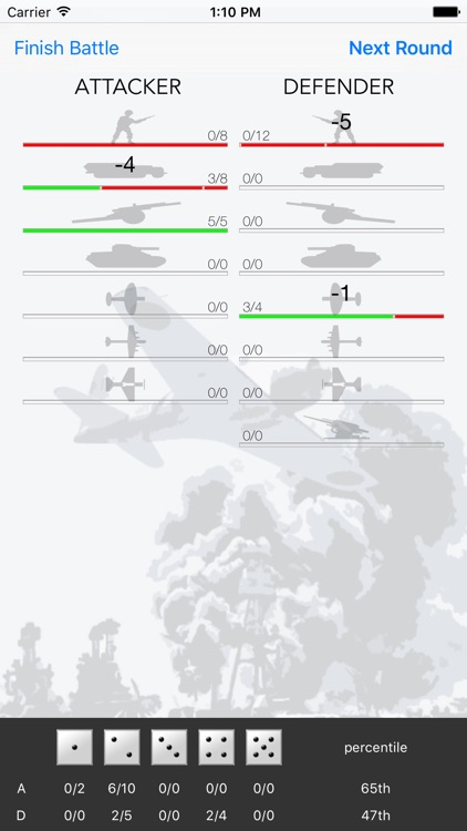 Probability Calc for Axis & Allies®