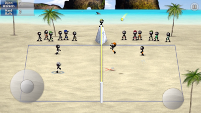 Screenshot from Stickman Volleyball