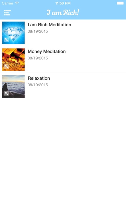 I am Rich! Positive Image Meditation and Affirmations screenshot-2