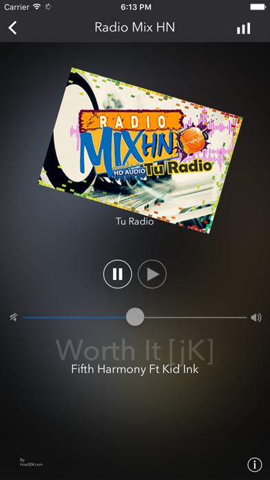 Radio Mix HN screenshot one