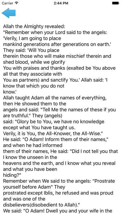 Islamic Stories Full screenshot three