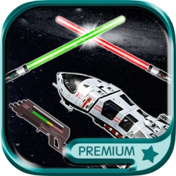 Stickers galaxy wars Photomontage for funny pics - Premium