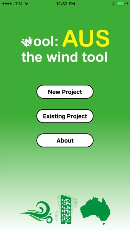 wool:AUS (Wind Code AS/NZS 1170.2 2011) screenshot-3