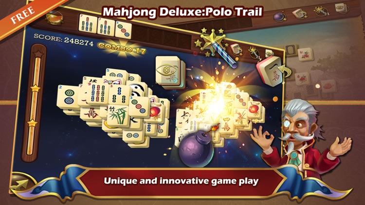 Mahjong Deluxe:Polo Trail screenshot-4