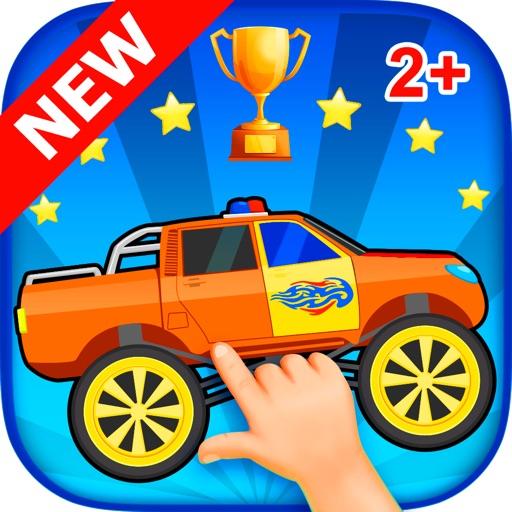 Машинки гонки для детей 3 лет скачать бесплатно Веселые гонки с животными!