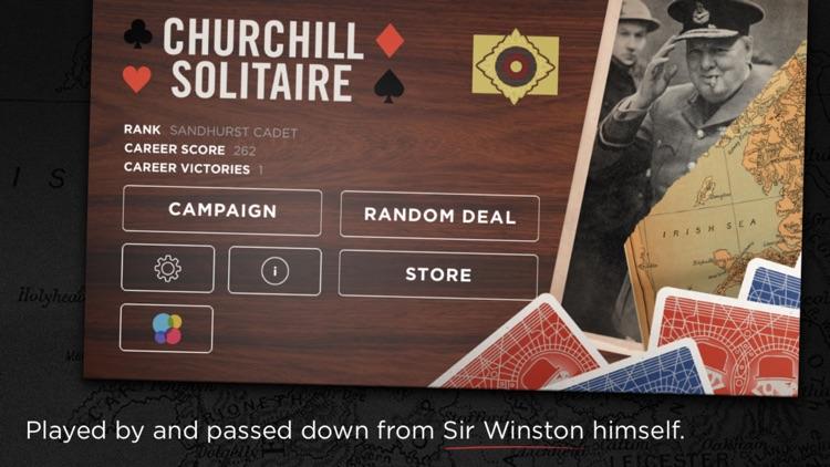 Churchill Solitaire - World War Card Game