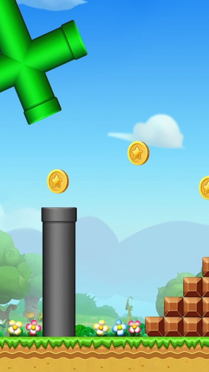 Super Bird  Adventure: Run and Jump Flappy Free Games for Kids by Top Fun 2 screenshot-3