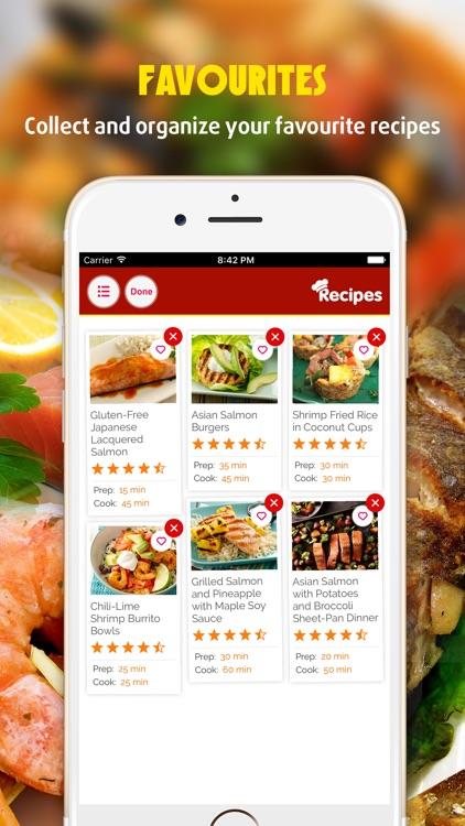 Yummy Fish & Seafood Recipes Pro screenshot-3